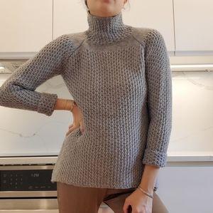 Zara Knit chunky cable knit sweater